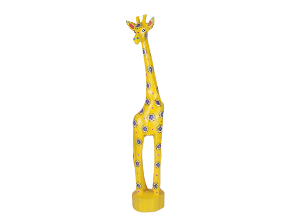 Bright Yellow Giraffe from Swaziland