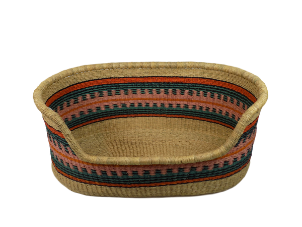Handcrafted Dog Basket from Ghana