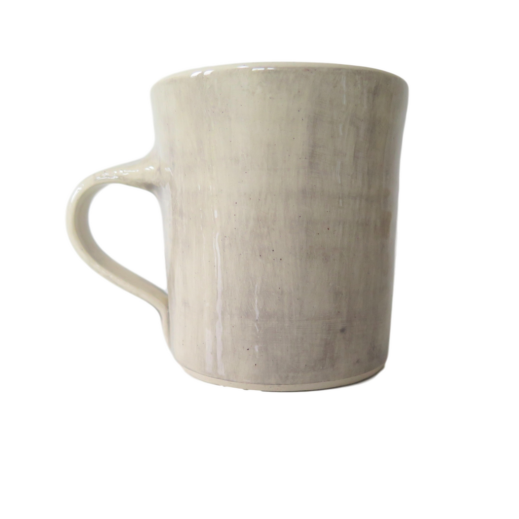 Handmade Wonki Ware Regular Mug - Dove Grey Wash