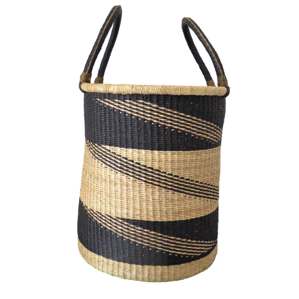 Ghana Laundry/Toy/Log/Storage Basket - Large