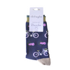 Blue bicycle socks  Size 4-7