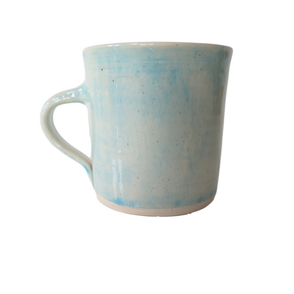 Handmade Wonki Ware Regular Mug - Sky Blue Wash