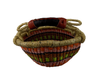 Pink and Brown Ghana Basket
