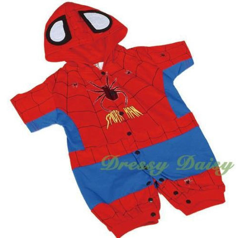 FC014 Spiderman Hero Superhero Baby Infant Boy Fancy Costumes Outfit Size 3-24 Months  sc 1 st  Dressy Daisy & Costumes u2013 Dressy Daisy