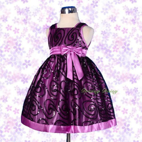 Dressy Daisy Girls Sequined Dresses Wedding Flower Girl Pageant Occasion Dress