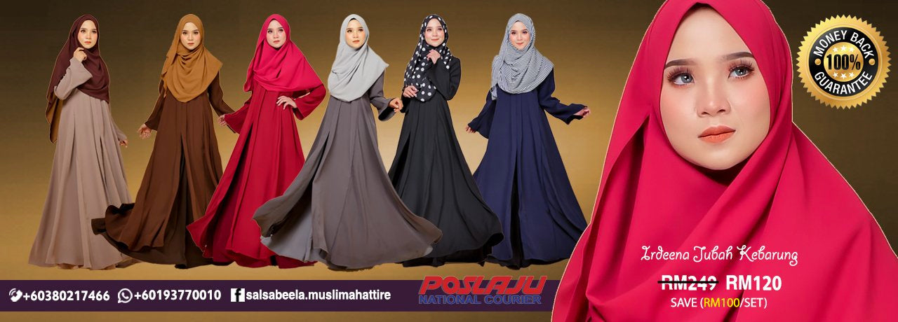 Salsabeela Muslimah Attire front Page Covers