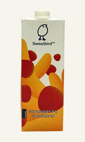 Sweetbird Strawberry & Banana Smoothie - 1L