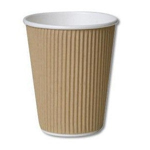 12oz Kraft Triple Walled Cups