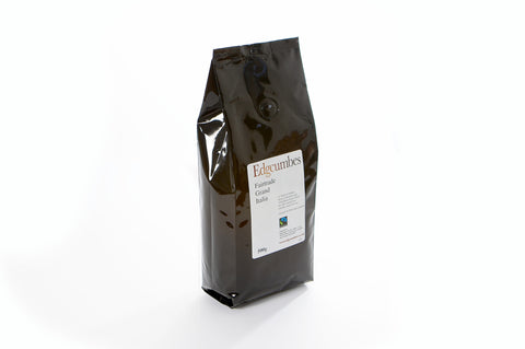 Edgcumbes Fairtrade Grand Italia Ground Coffee - 500g