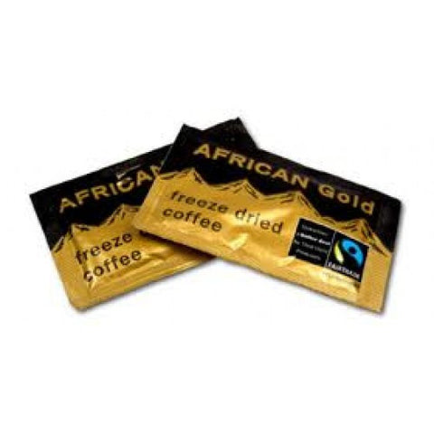 Fairtrade African Gold Instant Coffee Sachets - Box of 250