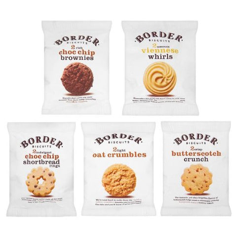 Border Biscuits 5 Varieties - 100 Pack