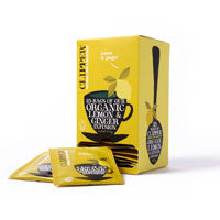 Clipper Organic Infusions Lemon and Ginger (25 Tea Bags)