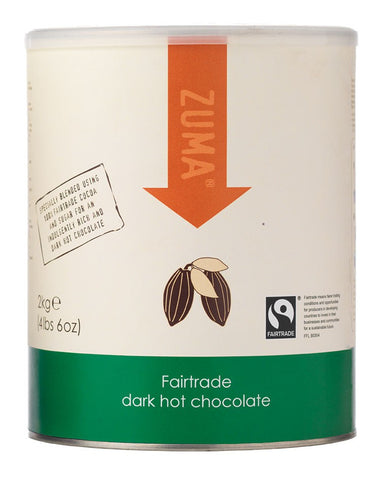 Zuma Fairtrade Dark Hot Chocolate 2kg