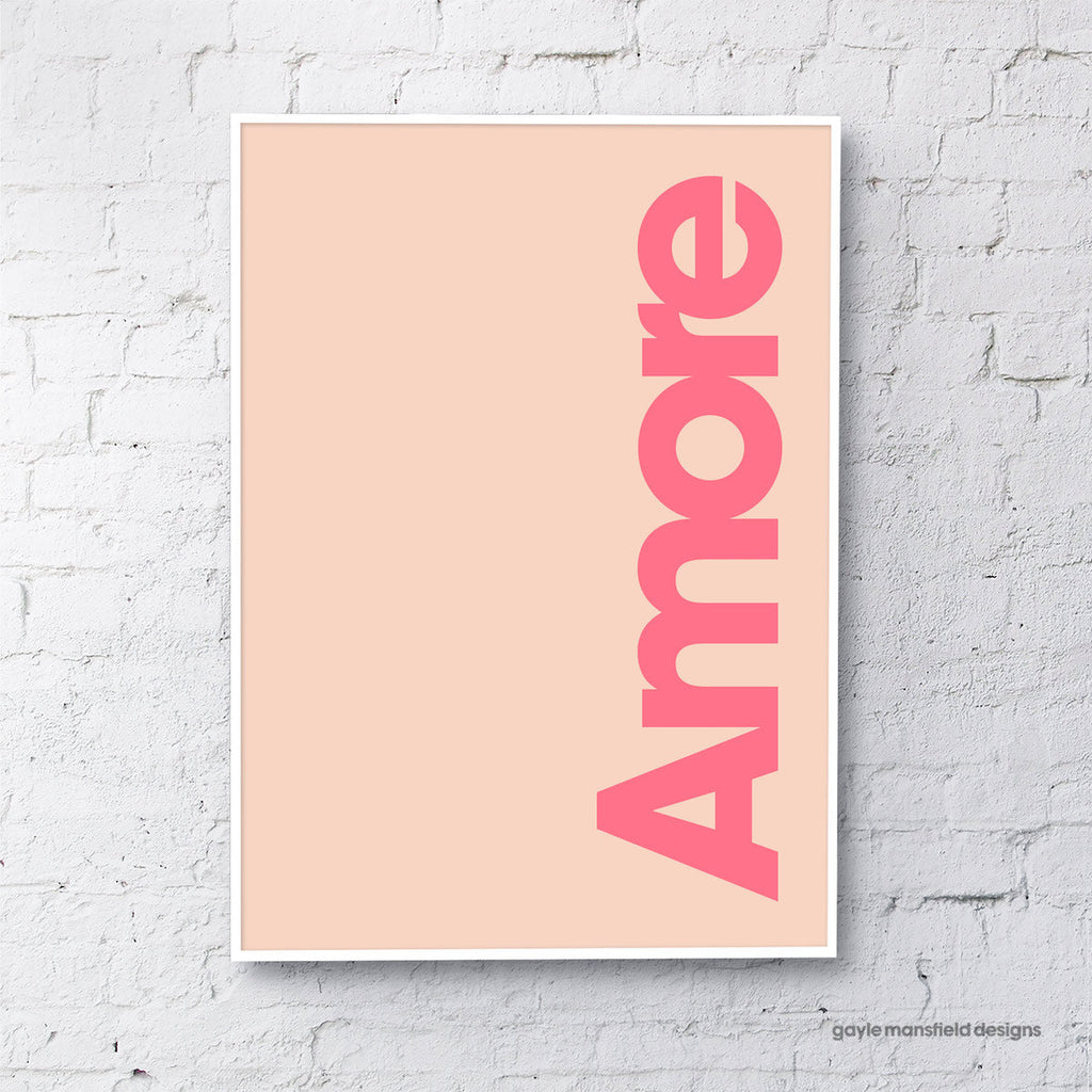 Amore (coral/pink)