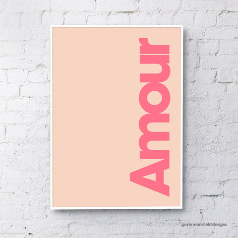 Amour (coral/pink)