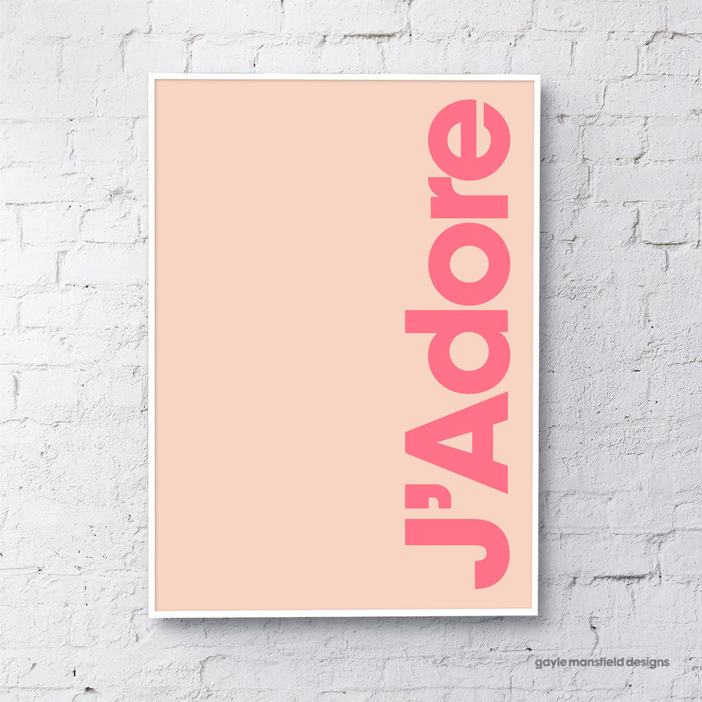 J'Adore (coral/pink)