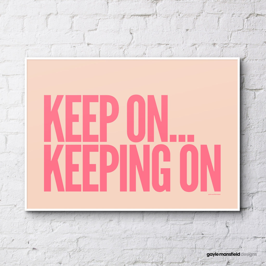 Keep on (coral/pink)