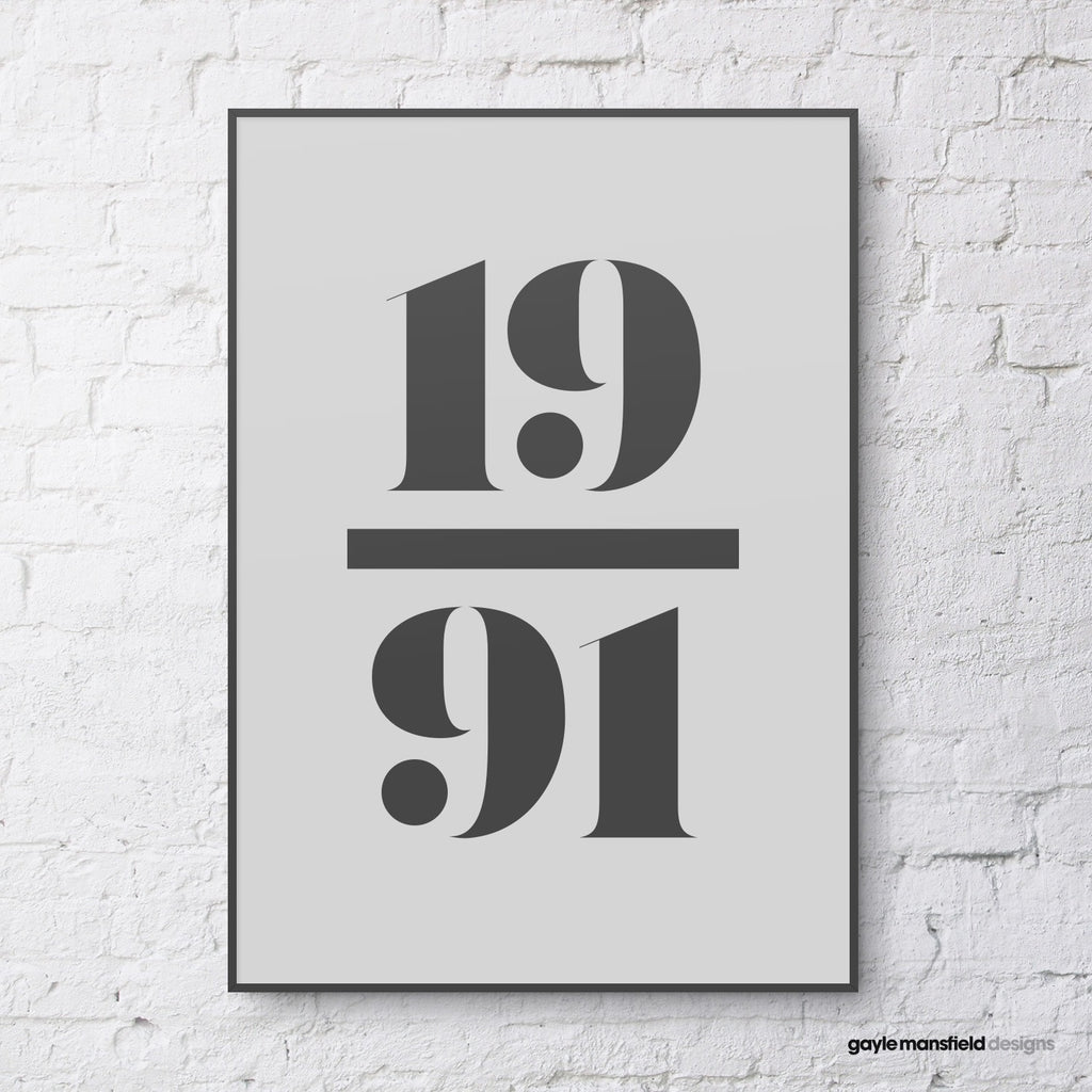 antique digit/letter (black on pale grey)