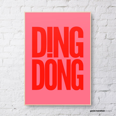 Ding Dong (dark pink/red)