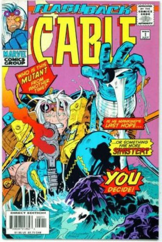 Cable Minus #1 Marvel Comics Flashback Apocalypse X-Men - redrum comics