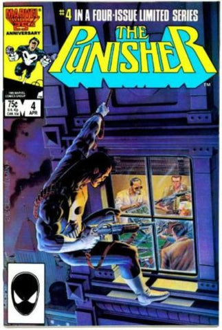The Punisher Limited Series #4 VF Mike Zeck Jigsaw 1986 - redrum comics