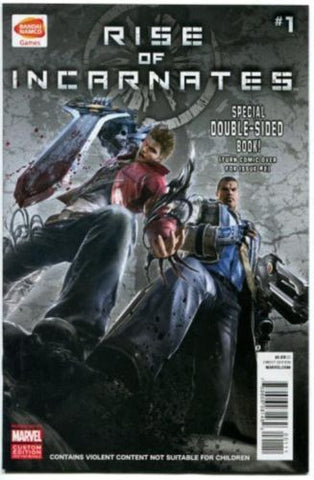 Rise of Incarnates SDCC 2014 exclusive Double Sided Issues 1 and 2 Marvel Bandai - redrum comics