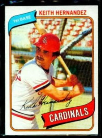 1980 Topps Keith Hernandez Cardinals #321 MINT