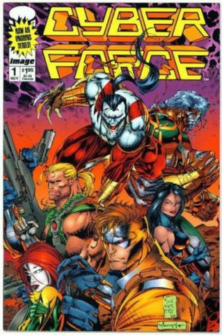 Cyberforce #1 Mark Silvestri Ongoing series 1993 NM - redrum comics