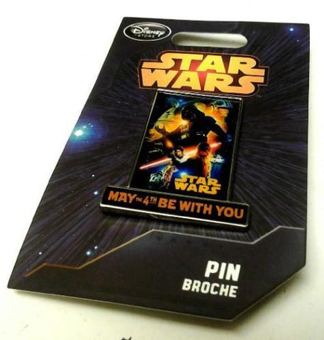 Star Wars Disney 2014 May the 4th Be With You Limited Edition Exclusive Pin