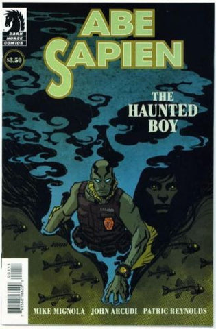 Abe Sapien The Haunted Boy One Shot Mike Mignola Hellboy BPRD - redrum comics