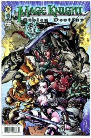 Mage Knight Stolen Destiny #1 Comic Book J. Scott Campbell cover Wizkids - redrum comics