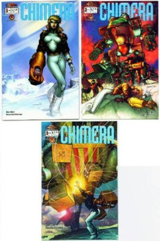 Chimera issues #1 2 3 set lot Crossgen Comics Brandon Peterson Crossgen Comics - redrum comics