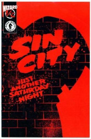 SIN CITY Just Another Saturday Night Wizard 1/2 Comic Frank Miller - redrum comics
