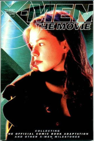 X-Men the Movie TPB ~ Anna Paquin Rogue photo cover 112 113 171