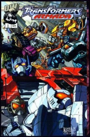TRANSFORMERS Armada #1 Dreamwave Gatefold Wraparound Cover 2002