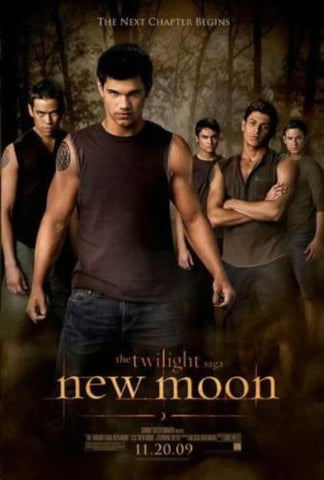 "Twilight New Moon Movie Wolf Pack Poster Taylor Lautner 11""x17"" - redrum comics"