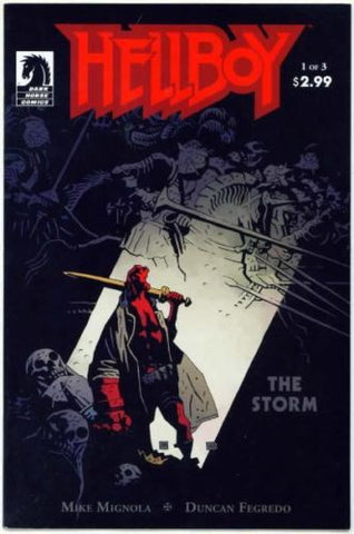 Hellboy The Storm #1 Mike Mignola Duncan Fregredo - redrum comics