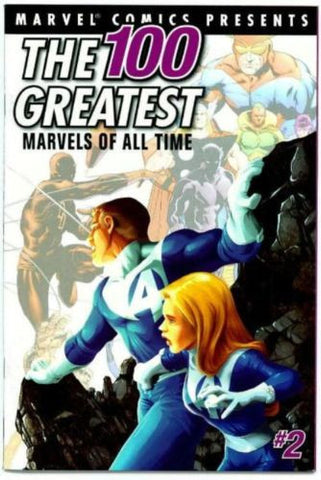 Marvel 100 Greatest Comics Fantastic Four #1 reprint - redrum comics