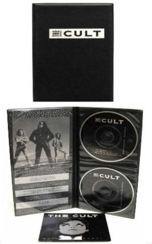 "The Cult Fire Woman/Edie Ciao Baby 3"" CD x2 with Wallet Ian Astbury"