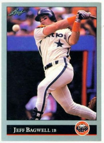 1992 Leaf PREVIEW Jeff Bagwell Rookie Card RC Astros - redrum comics