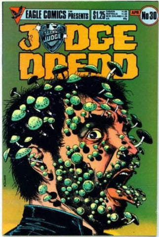 Judge Dredd #30 Eagle/Quality Comics 1986 2000 AD - redrum comics