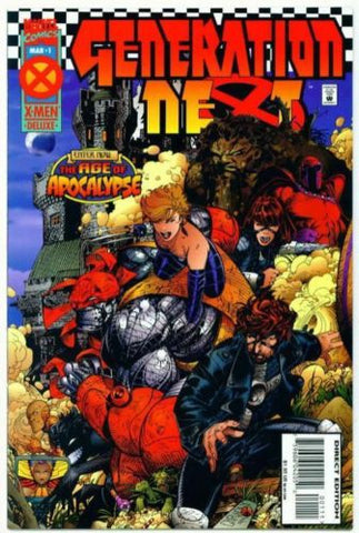 Generation Next #1 Age of Apocalypse X-Men Marvel 1995 - redrum comics