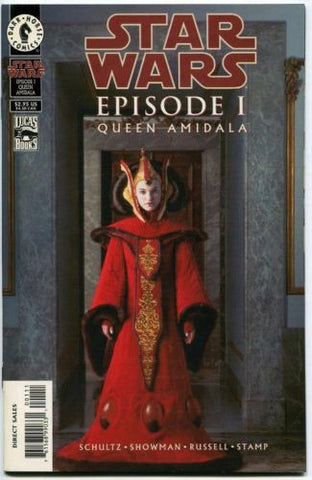 Star Wars Episode 1 Queen Amidala #1 Natalie Portman photo cover - redrum comics