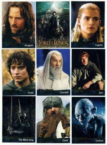 Lord of the Rings Return of the King 90 card set 2003 - redrum comics