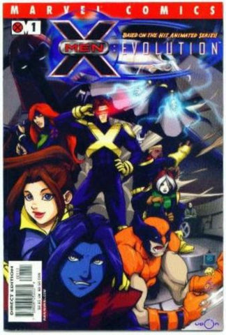 X-Men Evolution #1 Animated TV Show Udon Wolverine - redrum comics
