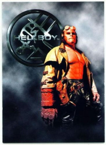 HELLBOY 2004 Original Movie Full 72 card set with Promo Card P1 - redrum comics