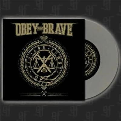 "Obey The Brave Ups and Downs 7"" EP on RARE Silver Vinyl limited to 200 - redrum comics"