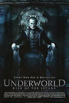 "Underworld Rise of the Lycans Movie Poster 11"" x 17"" Kate Beckinsale"