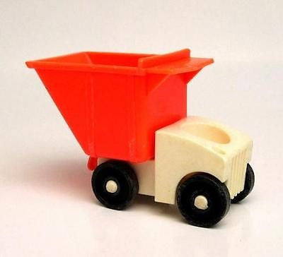 Fisher Price Vintage Little People DumpTruck Dump Truck - redrum comics