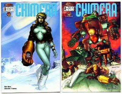 Chimera issues #1 & 2 set Crossgen Comics Brandon Peterson CGE - redrum comics